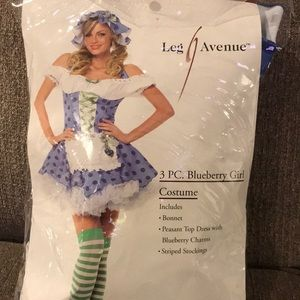 Women's Blueberry Girl Costume size small
